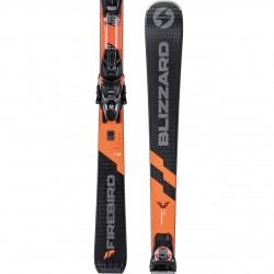 Blizzard Firebird TI black/orange + Marker TPC 10 GripWalk Demo ( 2020/21), 154, 160, 166, 172, 178 см