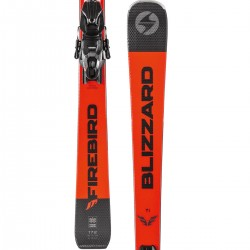 Blizzard Firebird TI black/orange + Marker TPC 10 GripWalk Demo ( 2019/20), 154, 160, 166, 172, 178 см