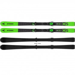 Atomic Redster X5 green + Atomic M 10 GW ( 2020/21), 154, 161, 168, 175 см