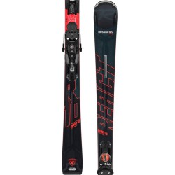 Rossignol React R10 Ti Konect + Look SPX 12 Konect GW B 80 black/red ( 2020/21), 160, 168, 176, 182 см